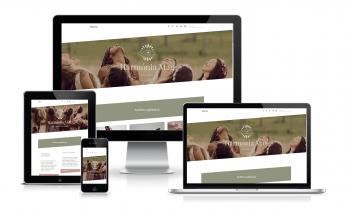 Harmonia Mag weboldala