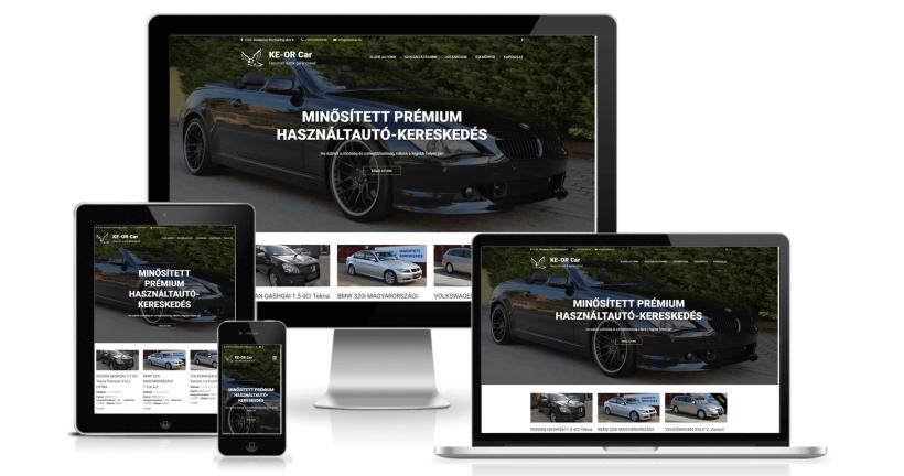 KE-OR Car weboldala
